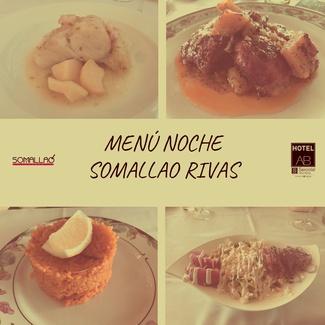 Restaurante Somallao Rivas - Menú Especial Noche