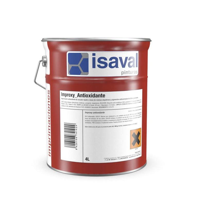 Improxy imprimación antioxidante en tienda de pinturas en ciudad lineal.