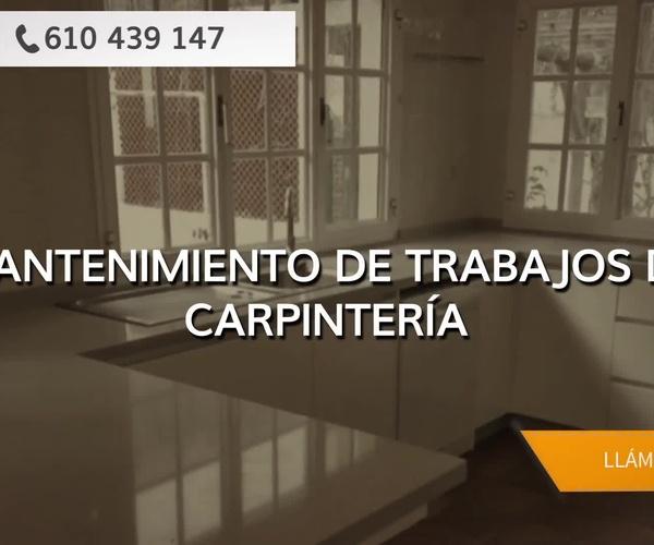 Carpintería a medida en Las Palmas de Gran Canaria: Carpintería y Montajes Oliver