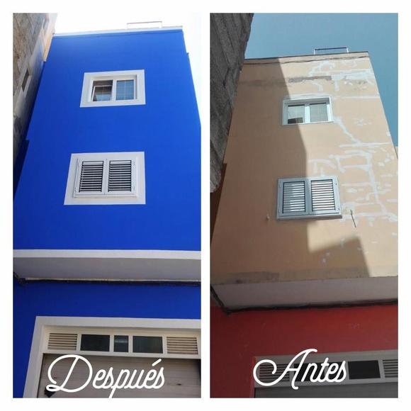 Rehabilitación de fachadas: Servicios de Pinturas Suárez