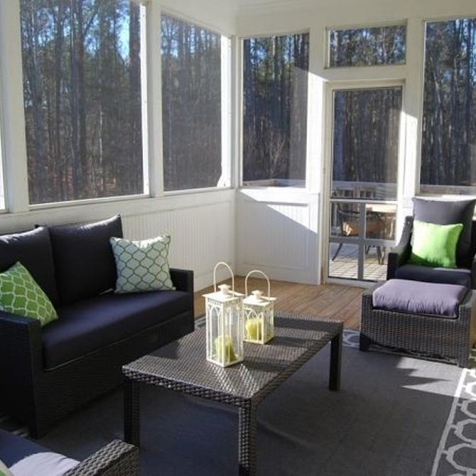 Algunas ventajas de cerrar la terraza de casa