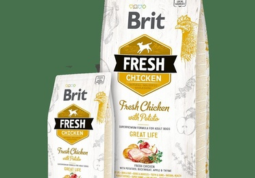 Brit Fresh Adult Pollo y Patata