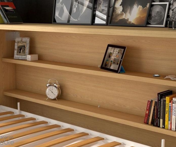 DORMITORIO JUVENIL IH143: Productos de Crea Mueble