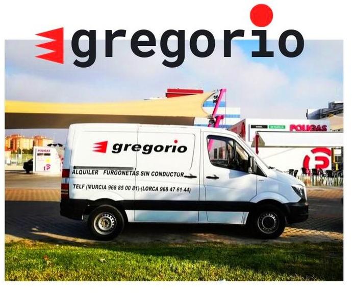 Alquiler de furgonetas Gregorio en Ronda Sur - Gasolinera Poligas -