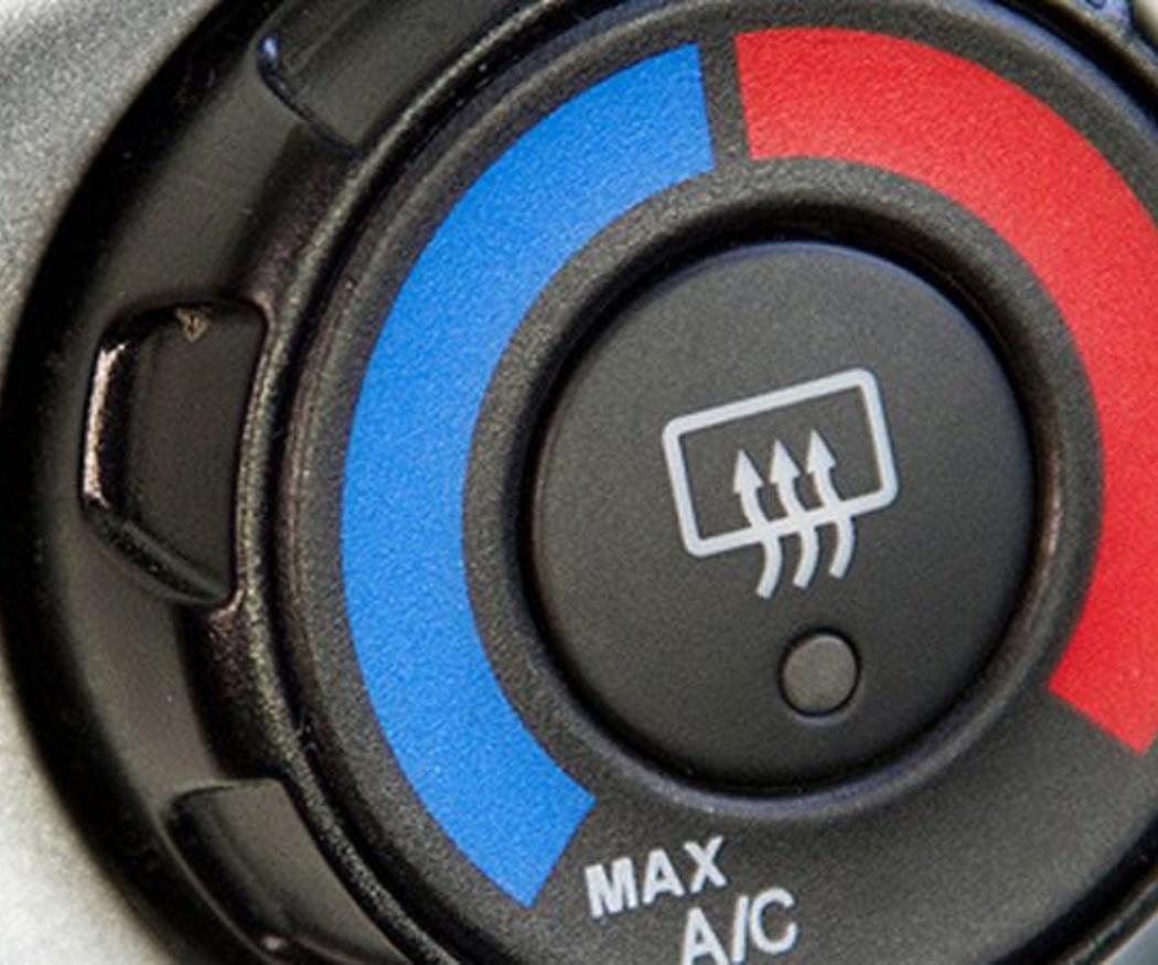 El aire acondicionado facilita una conducción más cómoda y segura