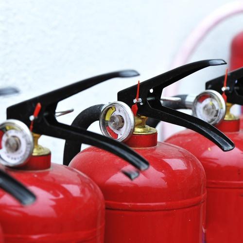 Servicio de control del perfecto funcionamiento de extintores