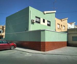 Rehabilitación completa de fachadas en vivienda unifamiliar adosada de San Félix de Cartagena