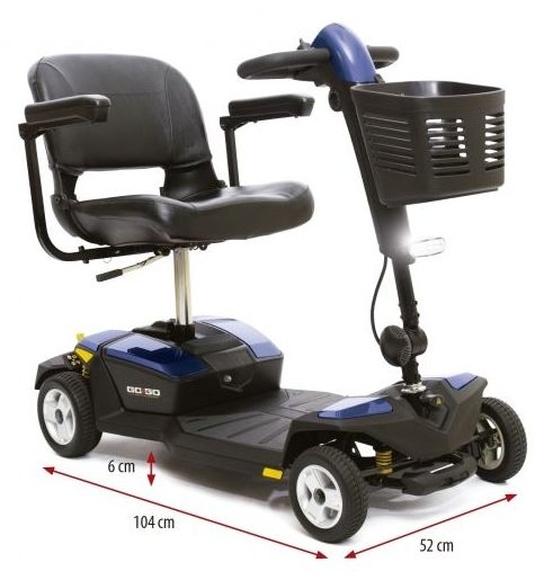 Scooter GoGo LX 4 ruedas con suspensión Asturias