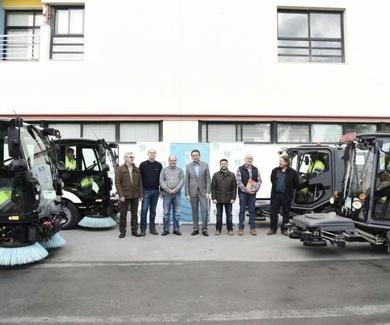 Torremolinos incorpora al servicio de limpieza viaria cuatro unidades de última generación  Ver más