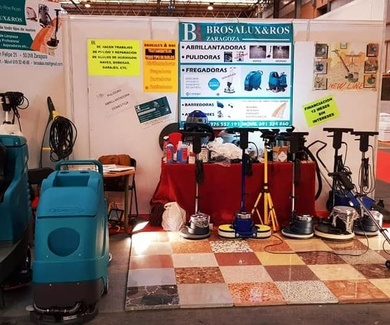 Alquiler de maquinaria de limpieza Zaragoza
