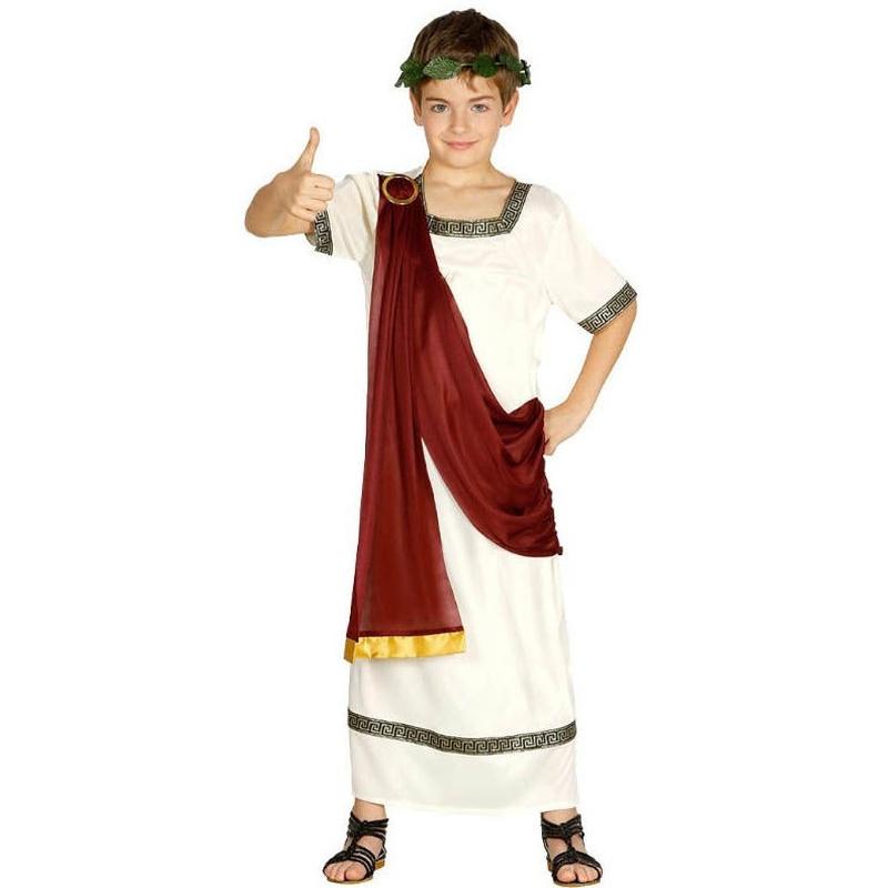 Disfraz romano banda granate infantil