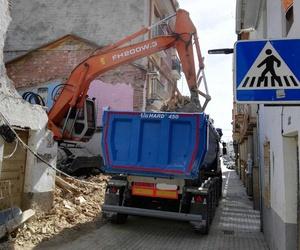 Camiones para retirada de escombros