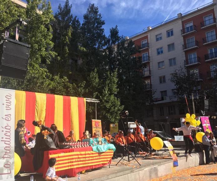 Electrònica Serret en el Concurso Nacional de Sardanas