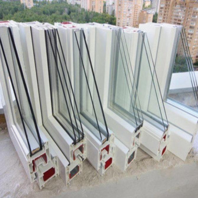 Las ventanas de triple vidrio