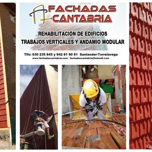 Rehabilitación de fachada de tejas
