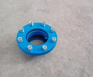 Bridas para conexion de los tubos con lamina
