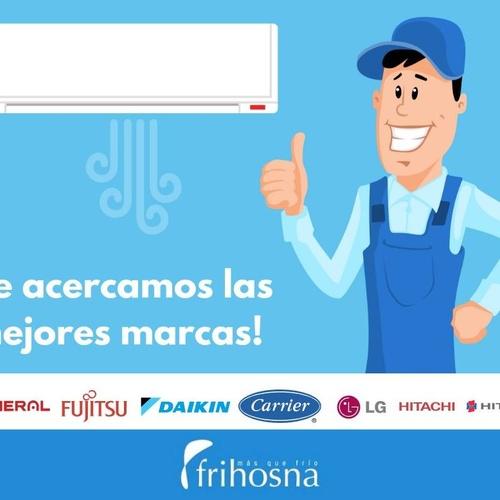 Reparación de aire acondicionado en Pamplona | Frihosna