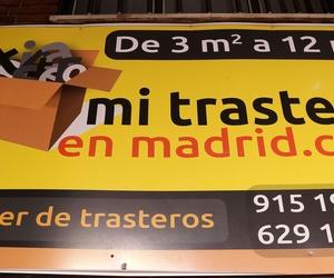 Alquiler de trasteros de diferentes tamaños en Madrid