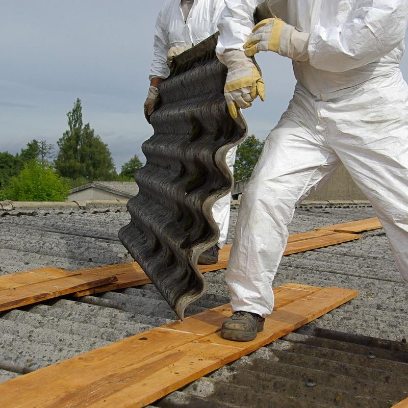 Retirada de amianto: Servicios de Trabajos Verticales Selas