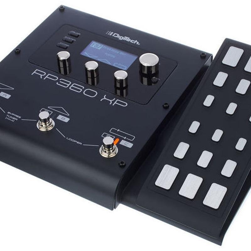 Pedalera guitarra eléctrica Digitech Rp 360 XP interface usb pedal expresión