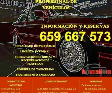 Limpieza de coches en Alcalá de Henares