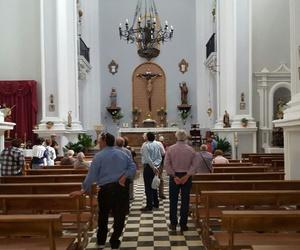 Iglesia del Convento conocida como Iglesia de San Antonio. Rutas turísticas Montefrío