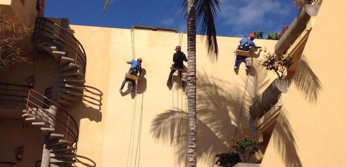 Trabajos verticales en Fuerteventura