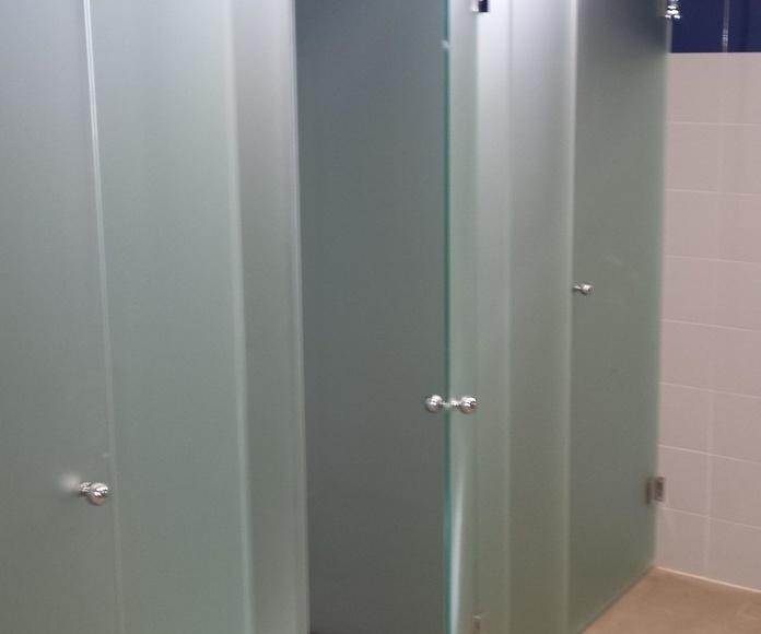 puertas de cristal para negocios