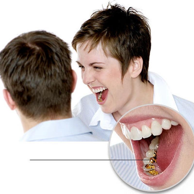Los brackets del Sistema Incognito™ se colocan detrás de los dientes.Verdaderamente invisible