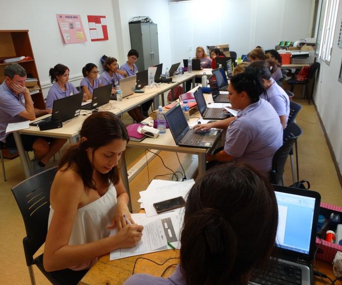 Sociedad de la información.: Proyectos y Servicios de Asociación Domitila
