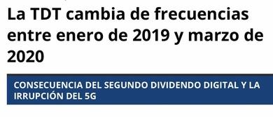 Información: NUEVA TDT ya está aquí, con servicio de antenas en Plaza de Castilla