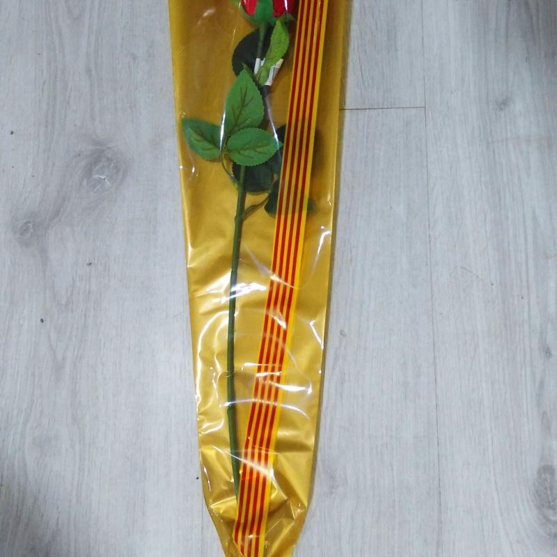 PQTE x100UD BOLSA CONICA MODELO SENYERA-CLASSIC (6 x 18 x 65CM) COL.: ORO PRECIO: 8,00 €/PQTE