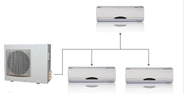 Splits y Multi - Splits: Productos y servicios de Airser Khoinsa