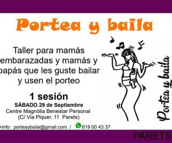TALLER PORTEA Y BAILA