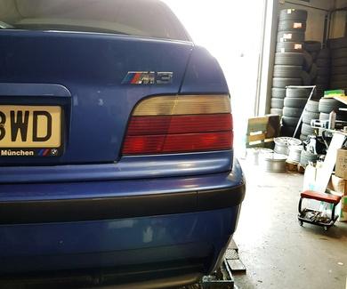 BMW M3 e36 - Sustitución aceite diferencial trasero
