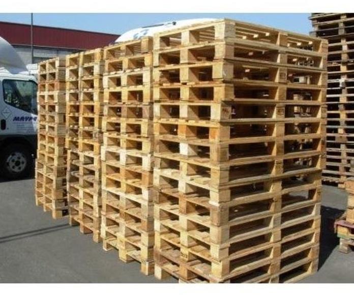 Palets de 800 x 1200 de 2º: Productos y servicios de Reciclajes Maype