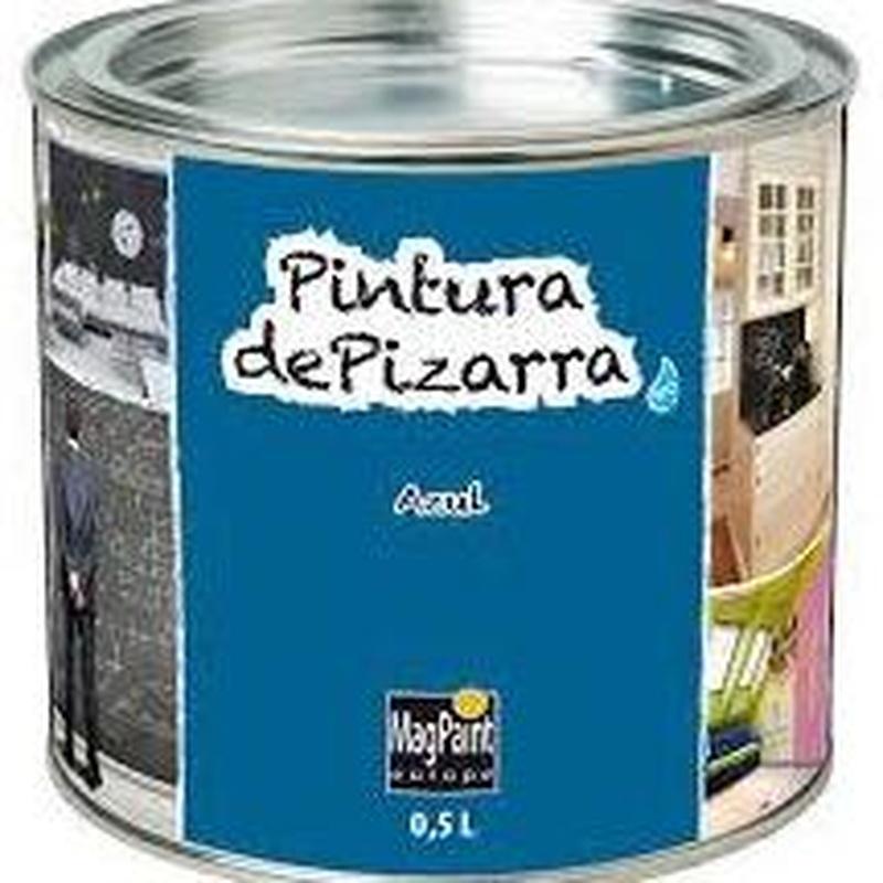 Pintura pizarra REGARSA cualquier color en almacén EL PINTURAS en pueblo nuevo.
