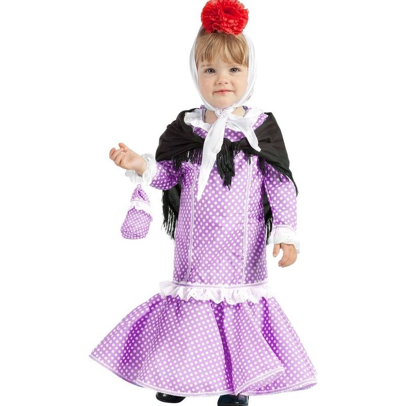Disfraz chulapa madrileña bebé