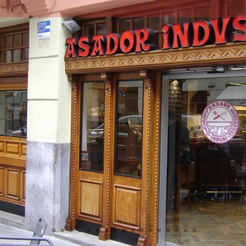 Postres: Carta de Asador Indusi