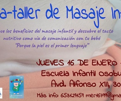 CHARLA TALLER MASAJE INFANTIL