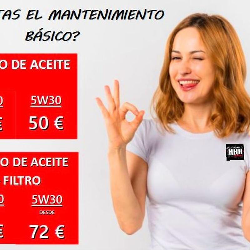 NO OLVIDES EL MANTENIMIENTO DE TU VEHÍCULO!