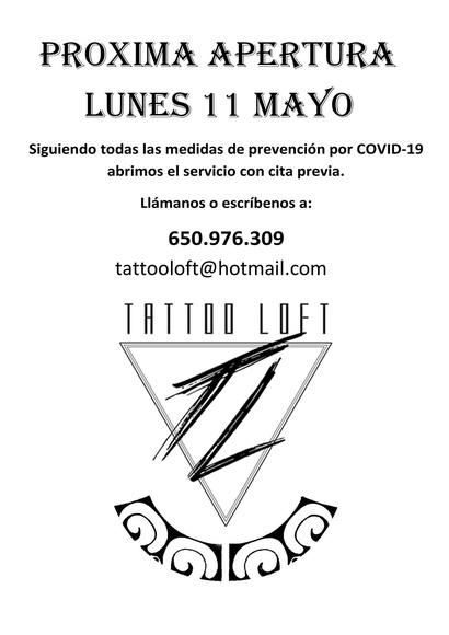 Apertura el 11 de mayo