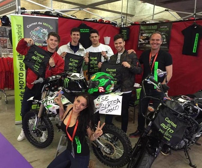 SALON MOTO MADRID 2016