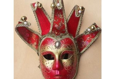 Máscara con brillantina Jolly Jolly brillantina