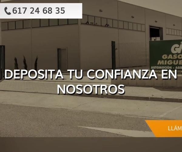 Reparto de gasóleo en Tordesillas | Miguel Rico La Castellana