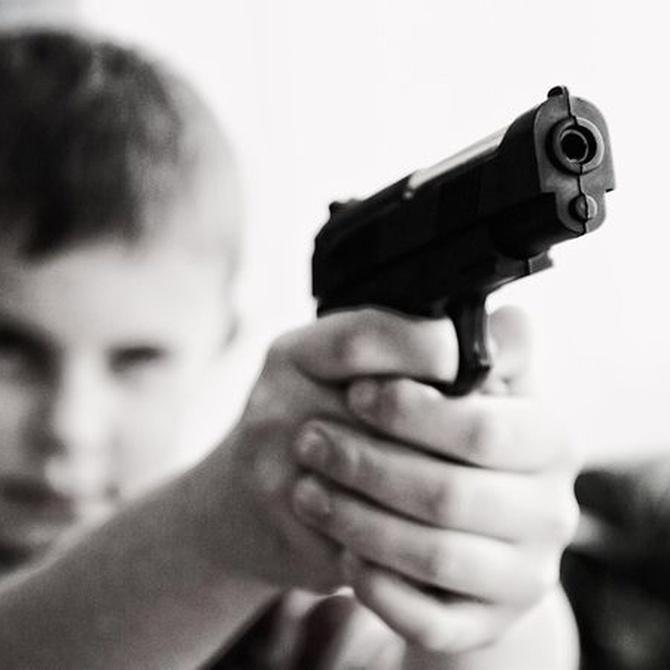 El permiso de armas para menores