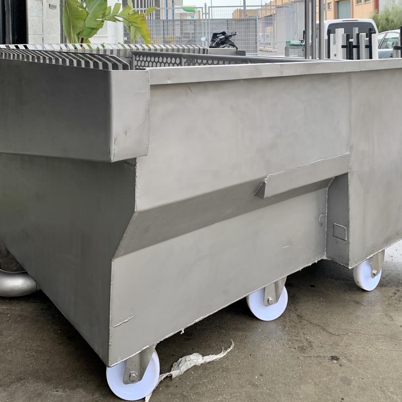 Maquinaria industrial: Nuestros servicios de Cerrajería Inox Las Salinas