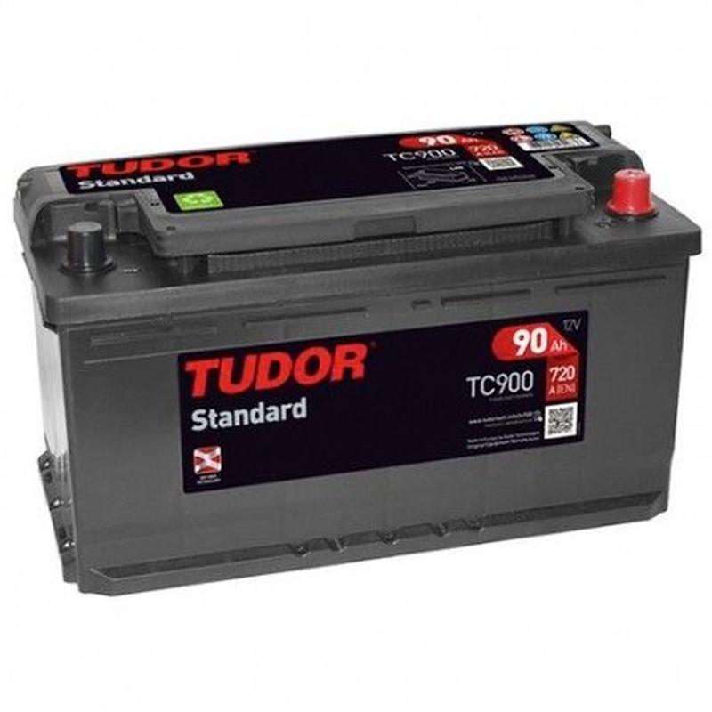 Baterías Tudor: TC900: Recambios para el Automóvil de Lucauto Madrid