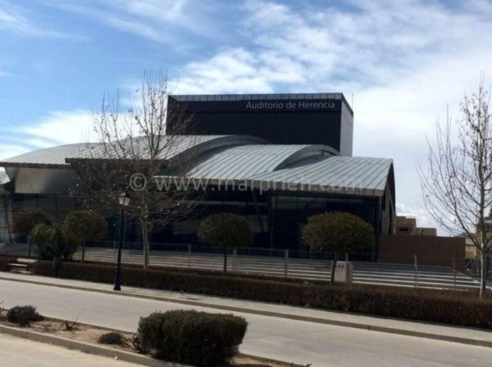 Instalación Auditorio de Herencia (Ciudad Real)