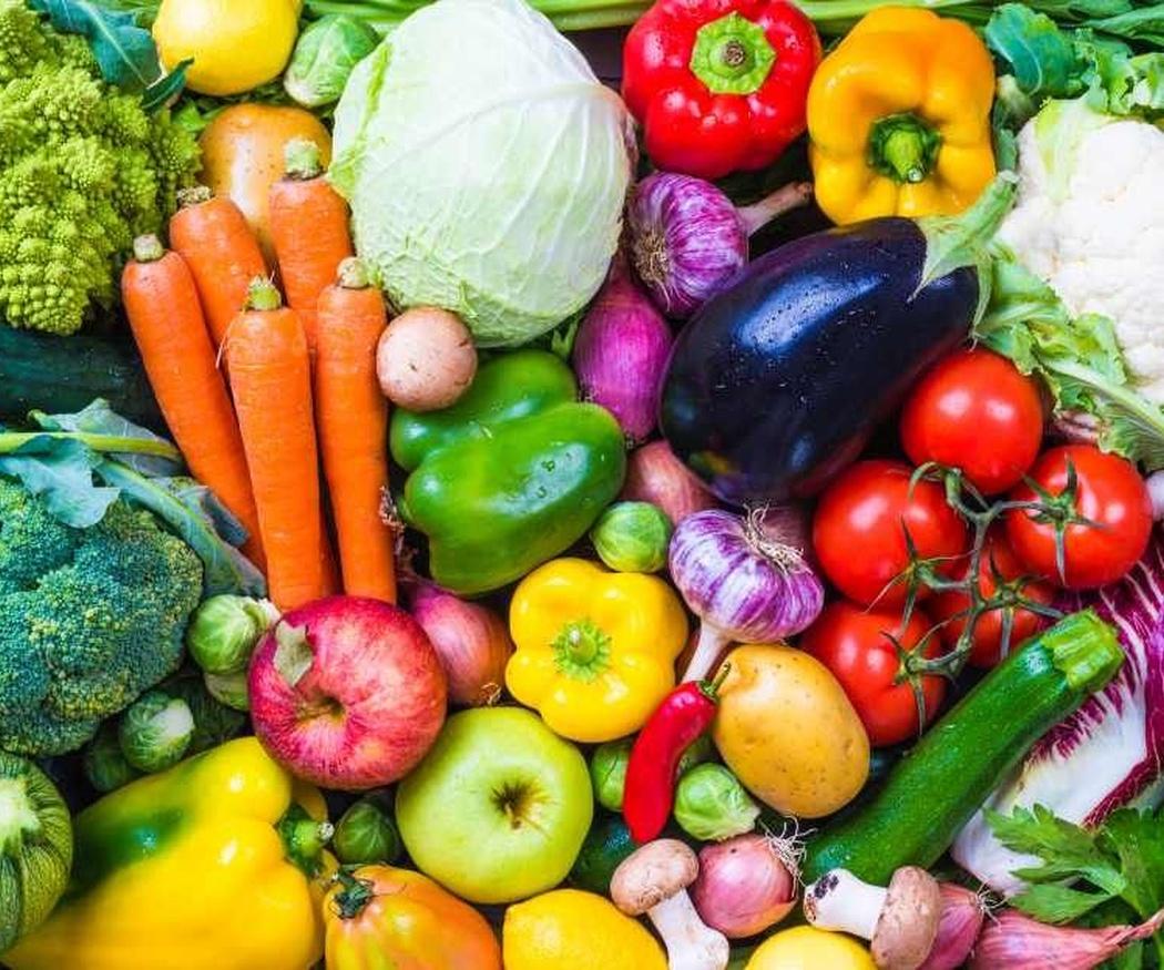 Frutas, verduras y hortalizas para una dieta saludable